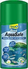 250ml Tetra Pond Aquasafe Tap Water Chemical Dechlorinater Treatment