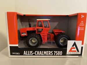 Ertl Allis-Chalmers 7580 4WD Tractor Model with Dual Tires 1/32 Scale 16316 NIB