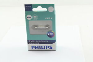 PHILIPS 11854ULWX1 LED INTERIOR FESTOON GLOBE 12V 38mm WHITE LIGHT 6000K