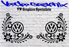 Car Van Body Sticker Vinyl Decal VW T6 T5 T4 Split Camper Surf Bus