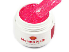 Glitter Color UV Gel Made in Germany 5ml Glitter Hot Pink