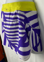 Nike Womens Dri-fit Skort Size Medium Tennis Lined Skier Zip Pocket Drawstring