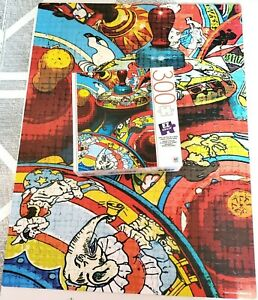 TINY TOY TOPS 300 E-Z Grasp large extra thick pieces MB Jigsaw Puzzle COMPLETE