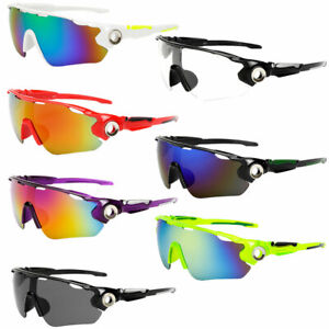 Outdoor Cycling Bike Running Sunglasses UV400 Lens Goggle Glasses Eyewear LD
