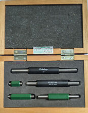 Mitutoyo 1 To 5 Inch Long 5 Piece Micrometer Calibration Standard Set 165