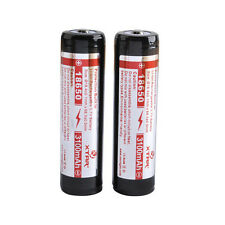 XTAR 18650 3100mAh Rechargeable Li-ion Battery w/PCB (Panasonic Cell) - 2 Pack