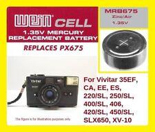 Per Vivitar 35EF - Batteria Zinco/Aria WeinCell MRB 675 - 1,35 V