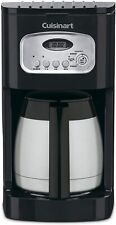 NEW - Cuisinart DCC-1150BK 10-Cup Programmable Thermal Coffee Maker - Black