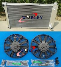 3 ROW Aluminum Radiator+FANS for Chevy Pickup Truck 1967-1972 1968 1969 1970 71