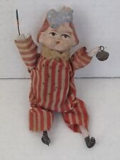 Antique 4th of July Girl Squeak Toy