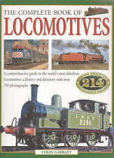 TRAINS - LOCOMOTIVES Complete Book Colin Garratt **GOOD COPY**