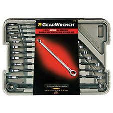 12 Piece XL GearBox Double Box Ratcheting Wrench Set- Metric