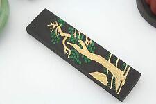 125g Fineness Pine Soot InkStick Hukaiwen Brush Calligraphy Painting Sumi-E 黄山松烟