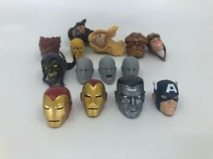 MARVEL LEGENDS Loose Heads and Custom Heads