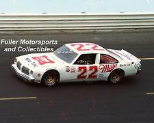 RARE BOBBY ALLISON #22 MILLER HIGH LIFE OLDS 1983 8x10 PHOTO NASCAR SPORTSMAN