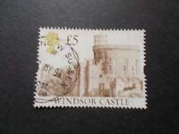 GB 1992 Castles Stamps~£5 Brown Value ~Very Fine Used~E~UK Seller