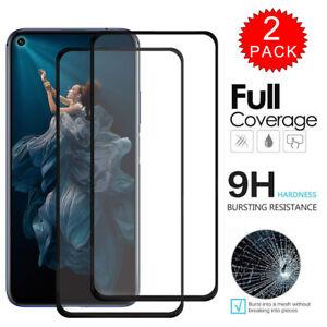 For Huawei Nova 5T Full Anti-scratch Coverage Tempered Glass Film Screen Protect