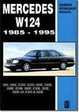 Mercedes W124 1985-1995 Workshop Manual : 200 series , Cheapest on ebay!