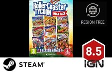 RollerCoaster Tycoon 9 Megapack [PC] Steam Download Key