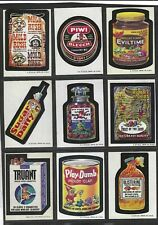 WACKY PACKAGES SERIES 6 COMPLETE SET NM