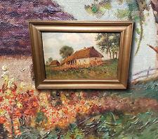 Russo Datscha nella Estate. Signorile Impressionista, autografato HENNINGER 1915