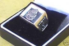 U S Navy Sterling Silver Military Ring Bevel Style