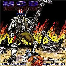 M.O.D. - Loved By Thousands... Hated By jouées (Crossover, TRASH METAL) NEUF