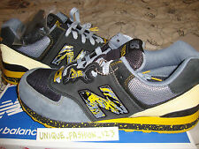 NEW Balance/DR Z City of Gold 574 US 11.5 UK 11 45.5 Nero Giallo FIEG