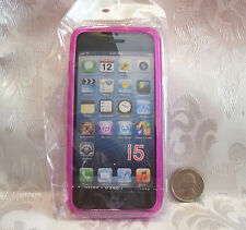 eG-case TPU Gel Back Protective Case Cover Skin for iPhone 5 5th G 5G Pink Frost