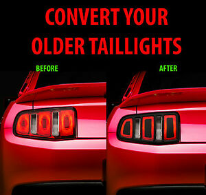 2010 2011 2012 Ford Mustang Taillight Conversion Kit Shelby Cobra GT350 GT500