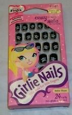 Lot of 2 Fing'rs Girlie Nails - 31105 - Skull & Crossbones