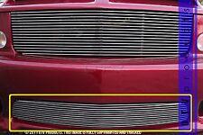 GTG 2005 - 2009 Saleen Ford Mustang 1PC Polished Bumper Billet Grille Insert