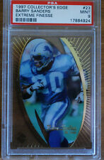 1997 Collector's Edge Barry Sanders Extreme Finesse #23 PSA 9 MINT