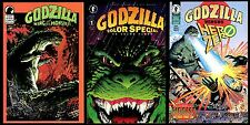 Godzilla King Monsters Color Special vs Hero Zero Mixed Comic Lot Set one shots