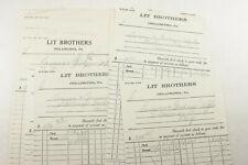 1929 Lamson Goodnow Lit Brothers Philadelphia PA Remittances Ephemera P1232B