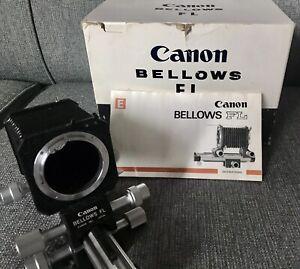 Canon Bellows FL & Slide Duplicator w/ Original Boxes, Instructions NOS