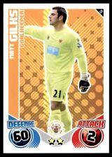 Match Attax 2010-2011 Matt Gilks Blackpool No. 73