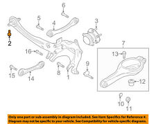FORD OEM Rear Suspension-Knuckle Bolt W716133S442