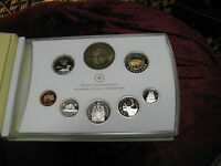 Canada 2006 Extremely Rare Baby Sterling Silver Coin Set Only 3862 Sets Minted.