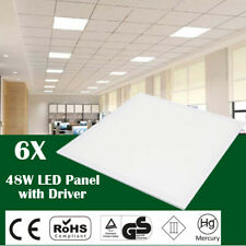 6 x 48W LED Recessed Celing Panel (Cool White 6500 K) 595 x 595 x 10mm /1Y