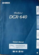 Yamaha DGX-640 Portable Grand Keyboard Original Owner's User's Manual Book