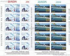 Europa CEPT 2004 vacanze-Bulgaria 4649-50 piccoli archi **