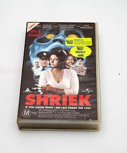 Shriek | IF you know what I did Last Friday the 13th | VHS