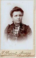 CDV Foto Damenportrait - Anvers Antwerpen um 1900