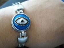 Bling Bling Bracelet.One size fits all.Costume Evil Eye Jewellry Bracelet! 76