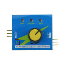 1PCS Servo Tester 3 Channel ECS Consistency Speed Controller for RC Helicopters