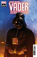 STAR WARS VADER DARK VISIONS #1 MOVIE VARIANT MARVEL COMICS NM