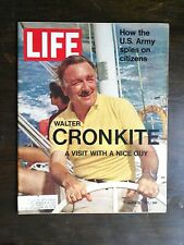 Life Magazine March 26, 1971 - Walter Cronkite - U.S. Army Spies on Citizens C2