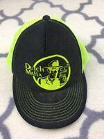 Dutch Mafia Dutch Bros Coffee Baseball Cap Hat Lid snap back trucker mesh adult