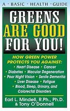 Greens Are Good for You! (Paperback or Softback)